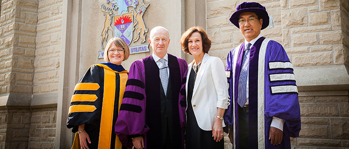 Glenn Stevens Receives Honorary Degree
