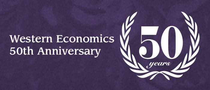 Western Economics 50th Anniversary