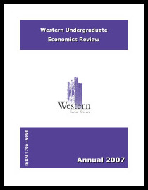 Western Undergraduate Economics Review 2007
