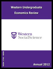 Western Undergraduate Economics Review 2012